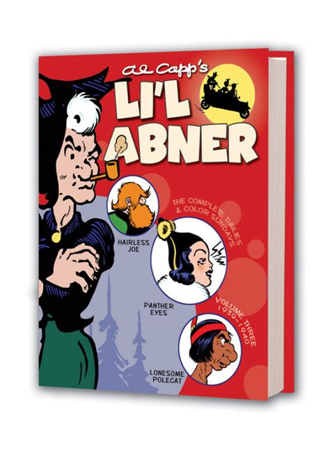 li l abner the complete dailies and color sundays vol 9 1951 1952 books lil abner hc vol 03