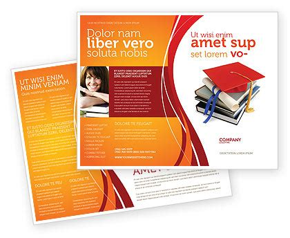 School Brochure Template Free by Higher Education Brochure Template Design And Layout