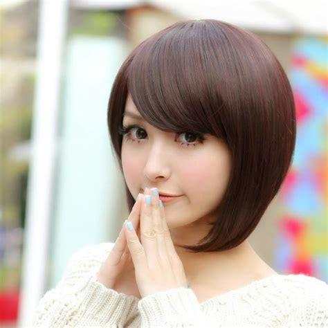 pin  potongan rambut pendek wanita