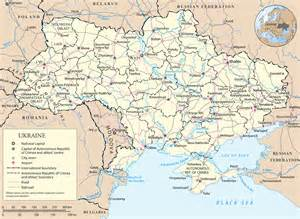 map ukraine travel europe