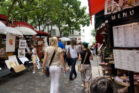 Kitchen In A Day by Place Du Tertre In Montmartre Paris