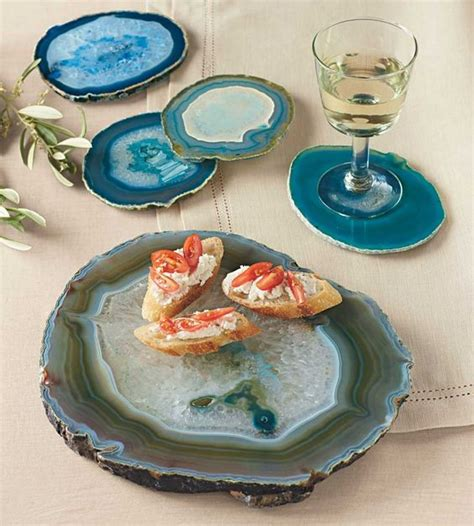 agate home decor 32 trendy agate and geode home d 233 cor ideas digsdigs