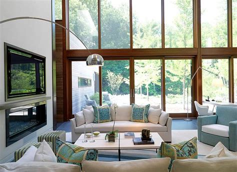 modern living room arrangements best colors for a positive mood interior