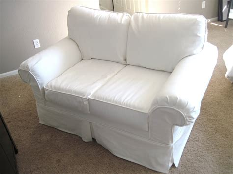 Sofa Cover White How To Cover A Chair Or Sofa With Loose White Sofa Cover