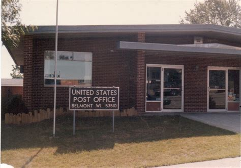 Belmont Post Office belmont wi post office photo picture image wisconsin at city data