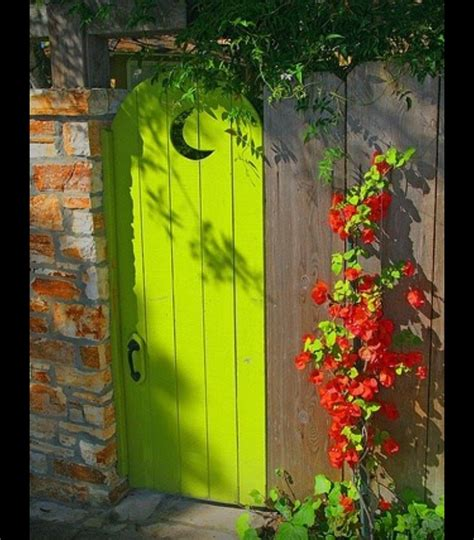 lime green door love the lime green door outside house decor pinterest