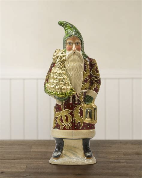 Handcrafted Santas - a touch of nostalgia with balsam hill s