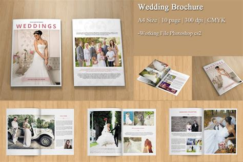 wedding studio brochure a photoshop brochure template for everyone out there