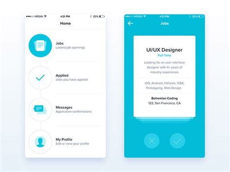 layout app border mobile app ui design how the best app developers work it