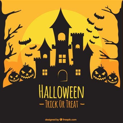 imagenes de halloween sin fondo fondo de halloween de silueta de castillo descargar