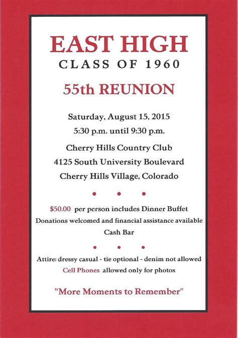 high school reunion invitation template class reunion invitation custom invitations
