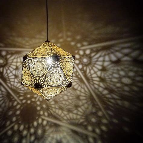 lights that cast patterns cozo sacred geometry lights and sculptures ikea