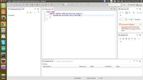 how to install eclipse in ubuntu java eclipse ide hello world problem ask ubuntu