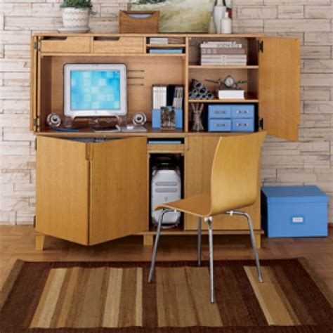 Office Armoire Desk by Marlo Office Armoire Desk Work Better Living Through Design