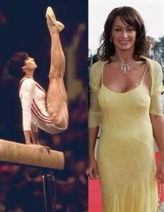 The first perfect 10 at the olympics in women s gymnastics she was