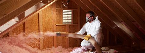 smart home landmark construction crew attic insulation blown in landmark construction crew