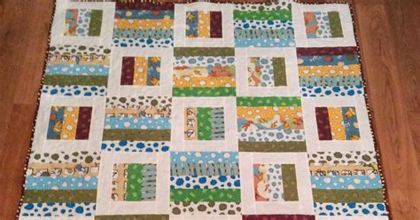 Basic Baby Quilt by Shush I M Quilting Simple Baby Quilt 5