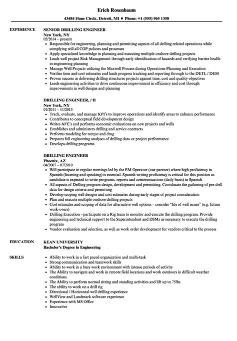 Target Protection Specialist Cover Letter by Drilling Engineer Sle Resume Target Protection Specialist Sle Resume Service Assistant