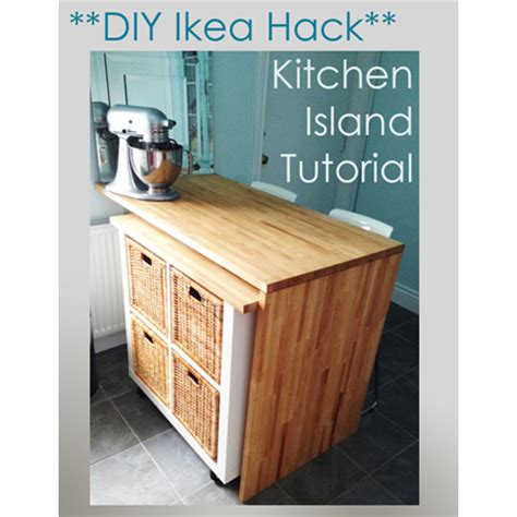 ikea kitchen island hack 7 ikea hacks for the kitchen the cottage market