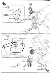 2003 2008 mazda mazda 6 v6 3 0l serpentine belt diagram serpentinebelthq