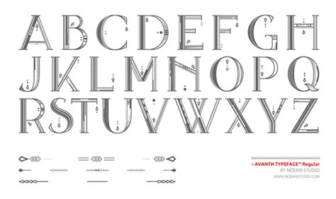 Designing The Beautiful by 10 Creative Quirky And Beautiful Decorative Fonts