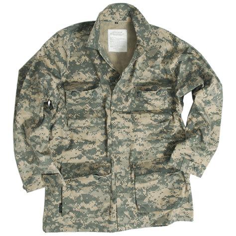 Acu Camo by Us Patrol Bdu Shirt Mens Jacket Combat