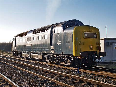 8526 Cp A Grey 55 rail class 55