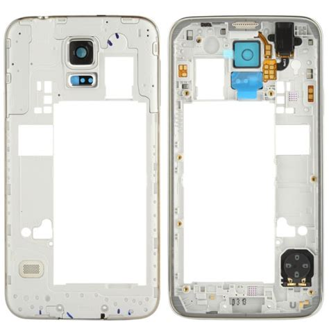Kamera Samsung S5 Original samsung galaxy s5 mittelrahmen rahmen kamera glas real