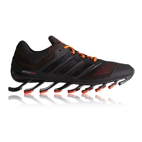 adidas springblade drive mens black sneakers cushioned running sports shoes