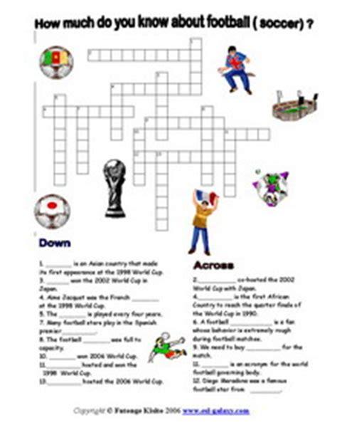 esl vocabulary printable worksheets sports