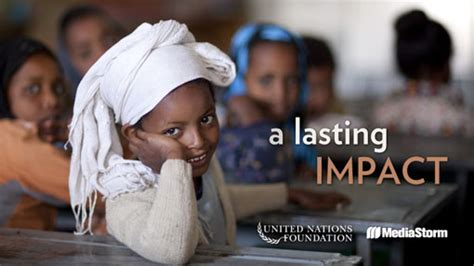 united nations foundation jobs mediastorm produces a lasting impact for the united