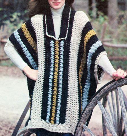 mens poncho knitting pattern crochet poncho pattern for crochet and knit