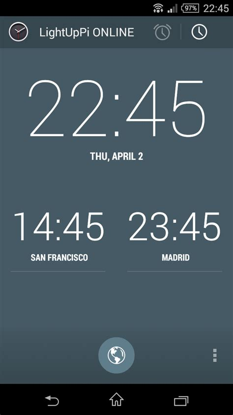 alarm clock that turns on light github carlosperate lightupdroid alarm android