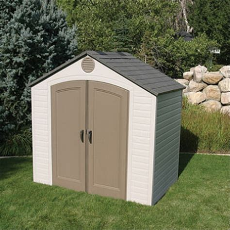 Resin Garden Shed Lifetime 8 X 5 Resin Storage Shed Sam S Club