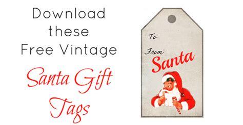 Christmas Gift Tags From Santa Fun For Christmas Santa Gift Tags Template