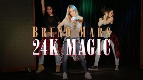 tutorial dance mandy jiroux bruno mars 24k magic dance tutorial youtube