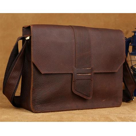 Satchel Bag No Brand tiding s messenger bags leather satchel a4 document book bag brown designers brand shoulder
