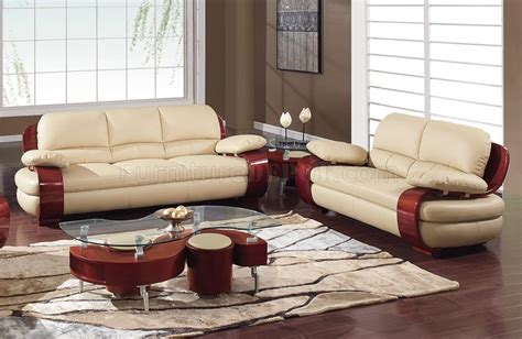 Global Upholstery Canada by 965 Sofa Loveseat Set In Leather By Global Furniture Usa