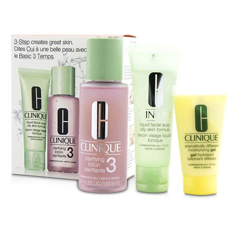 Clinique 3 Step clinique 3 step skincare system skin type 3 liquid