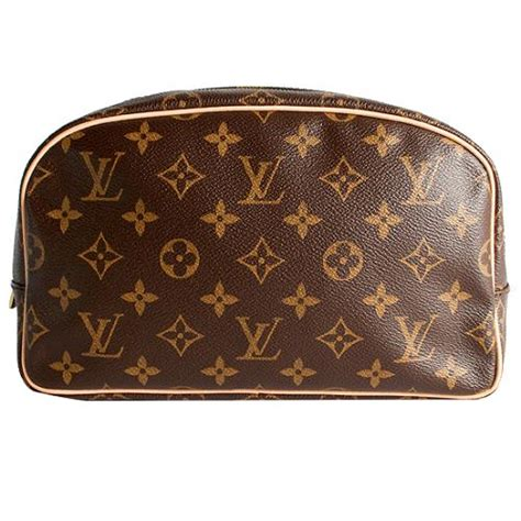louis vuitton monogram canvas toiletry bag  cosmetic bag