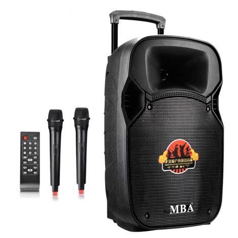 Mba Boxe by портативна Box колона Mba Sa 8100 с два микрофона и