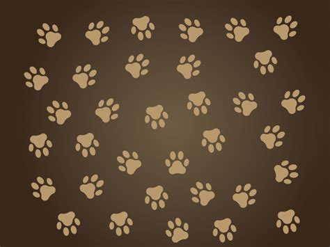 dog print wallpaper dog paws wallpaper wallpapersafari