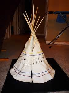 Building a scale model sioux tipi click for details tipi model