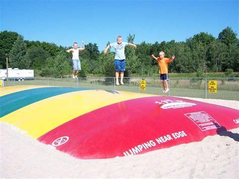 Koa Jumping Pillow jumping pillow koa cabins csites cing