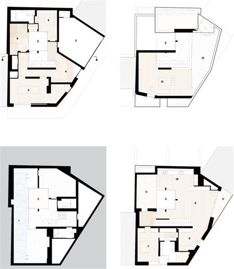 Turret House Plans by Mews House In Bloomsbury By Jamie Fobert Architects