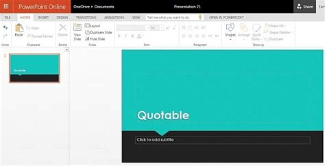 powerpoint themes quotable free quotes powerpoint template
