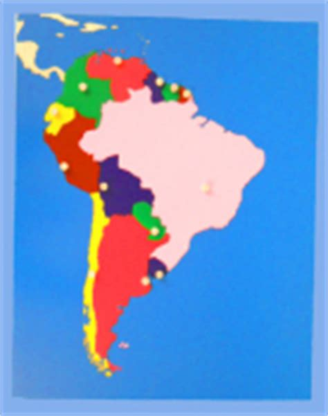 south america map puzzle wooden geography puzzle