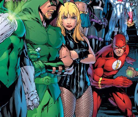 Dc Bust Black Canary why black canary should be leading the justice league dc