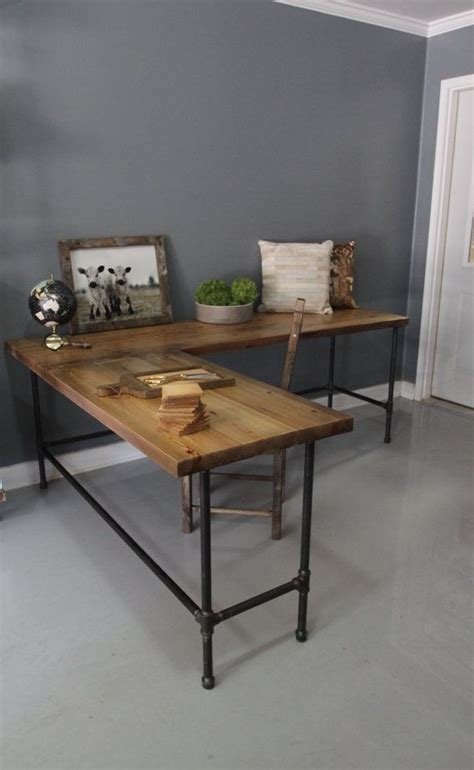 Diy Industrial Desk 28 Stylish Industrial Desks For Your Office Digsdigs