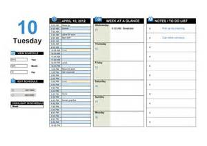 daily work planner template 40 printable daily planner templates free template lab daily task planner template business templates